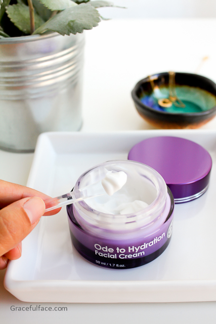 purpletale ode to hydration cream