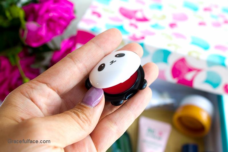 tony moly panda lip balm
