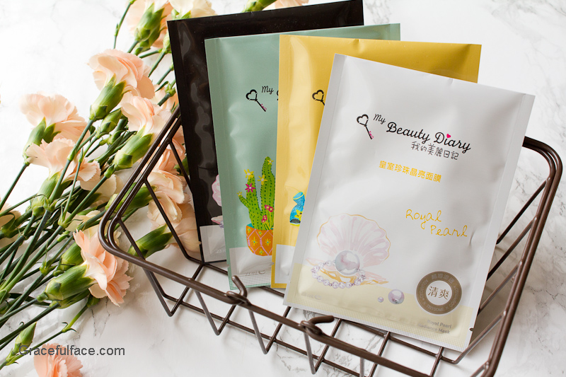 my beauty diary masks