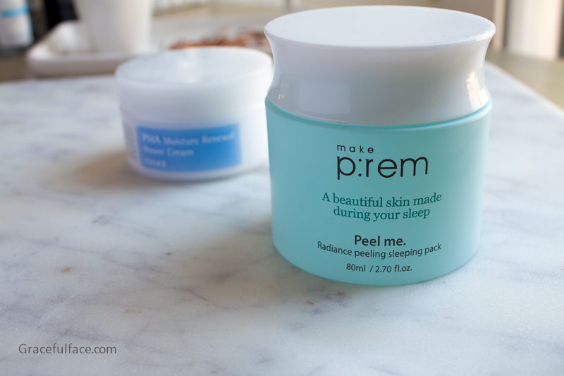make prem peel me sleeping pack
